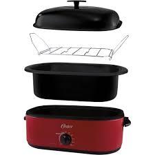 Toaster Oven Turkey Oster 24 Pound Turkey Roaster Oven 18 Quart Walmart Com