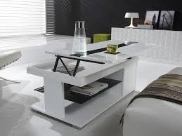 salon haut de gamme table basse relevable haut de gamme