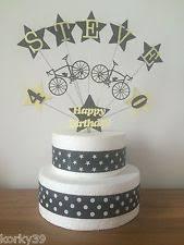 bicycle cake topper bike cake decorations ebay