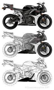 cbr fireblade 600 cbr 600 vector to keyline by heavyside on deviantart