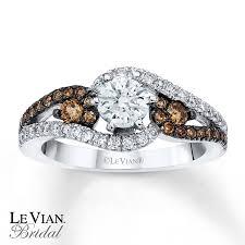 chocolate wedding rings le vian engagement ring chocolate diamonds 14k vanilla gold