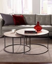 glass nesting coffee tables coffee table excellent round nesting coffee table high definition