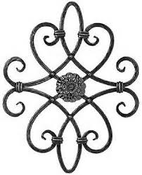 decorative wrought iron and ornamental iron components fencing in