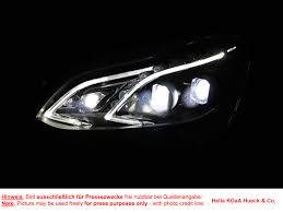 mercedes headlights at night new automotive lighting revolutionizes road safety infineon