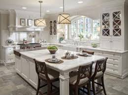 pictures of kitchens with islands awesome large kitchen islands with seating my home design journey