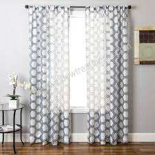 fresh sheer navy curtains and white and blue sheer curtains