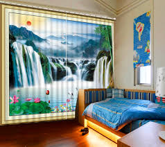 online get cheap chinese print curtains aliexpress com alibaba
