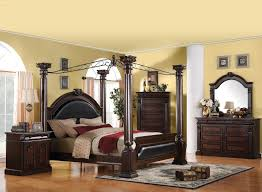 Acme Living Room Furniture by Acme Furniture Roman Empire Queen Canopy Bed Charleston