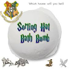 Harry Potter Bathroom Accessories Sorting Hat Bath Bombs Harry Potter Inspired