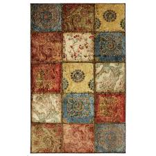 Mohawk Outdoor Rug Mohawk Home Artifact Panel Multi 6 Ft X 9 Ft Area Rug 512705