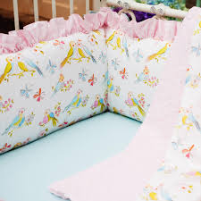 Duvet Baby Love Birds Crib Bedding Baby Crib Bedding In Love Birds