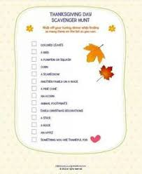 free thanksgiving scavenger hunt for beginning researchers