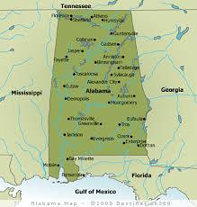 map usa alabama alabama map state map of alabama