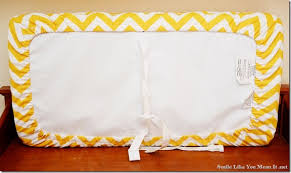 Changing Table Cover Smile Like You It Changing Pad Cover Tutorial