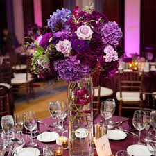 Purple Centerpieces Glass Purple Wedding Centerpiecewedwebtalks Wedwebtalks