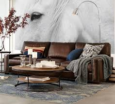 Sofas And Armchairs Sale Pottery Barn Leather Sofas And Sectionals Sale 20 Off Must Have