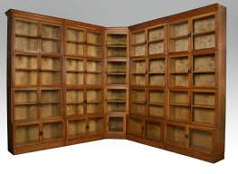 Large Bookcases Large Oak Globe Wernicke Style Stacking Bookcase Antiques Atlas