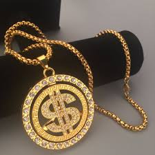 new necklace charms images New iced out g unit 50cent round medal rotation pendant necklaces jpg