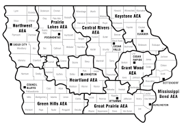 Map Of Des Moines Iowa Aea Directory Iowa Aea