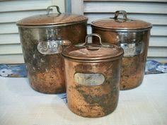 western kitchen canister set from collections etc for my