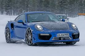 hot porsche cold weather new 911 gt2 rs spotted by car magazine