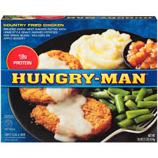 hungry man country fried chicken 16 oz walmart com