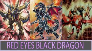 ygopro red eyes black dragon deck 2016 youtube