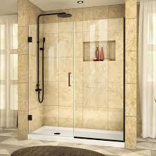 23 Shower Door Shop Dreamline Dreamline Unidoor Plus 54 1 2 55 In W X 72 In H