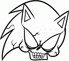 7 how to draw sonics skull
