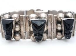 black onyx silver bracelet images 358 best vintage bracelets images vintage bracelet jpg