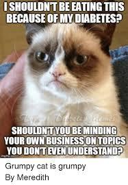 Diabetes Cat Meme - 25 best memes about type 1 diabetes and grumpy cat type 1