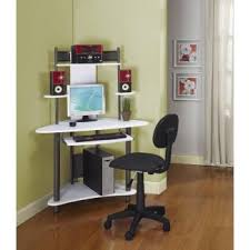 computer desk with shelves white computer desk for small spaces visual hunt