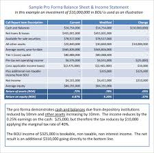 Excel Balance Sheet Template Free Pro Forma Balance Sheet 4 Free Excel Pdf Documents