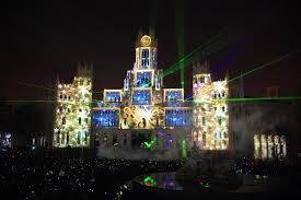 Christmas Light Projectors by Lm Productions Case Studies Feliz Navidad
