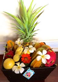 fruit basket maui go u2013 maui seasonal fresh fruit basket deluxe