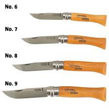 opinel kitchen knives folding knife carbon steel no 8