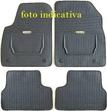 tappeti di gomma per auto subaru forester kit 4 tappeti gomma su misura bordati subaru