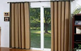 Patio Door Curtains Patio Door Curtains Grommet Top Laughingredhead Me