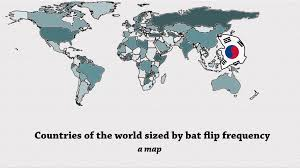 Mlb Map Everything You Need To Know About Bat Flips In Charts Mlb Com