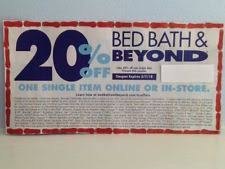 bed bath beyond 20 off bed bath and beyond gift cards coupons ebay