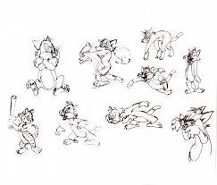 tom vs jerry studies by neudecker sports cartoon toonpool