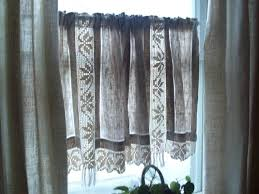Lace Cafe Curtains Kitchen by Lace Cafe Curtains U2013 Teawing Co