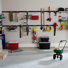 Wall Shelves At Lowes Tips Get Your Garage Under Control With Rubbermaid Fasttrack