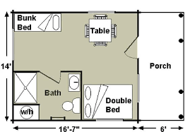 one room cabin floor plans the best way to experience the of cing without sacrificing