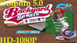 backyard baseball gamecube outdoor goods
