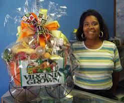 virginia gift baskets vdacs virginia grown promotion