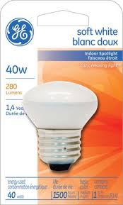 ge lighting canada soft white 40 watts r14 bulb pack of 1