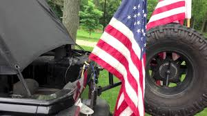Flag Bracket Jeep Jku Flag Mounts Youtube