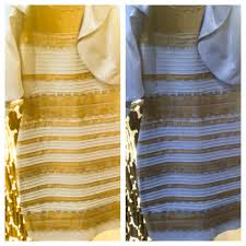 black and blue dress yellow gold vary of dress