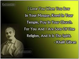 Artist Love Quotes by American Artist Kahlil Gibran Top Best Quotes With Pictures